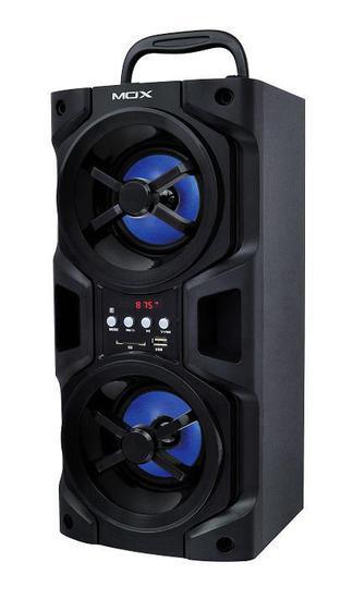 """Caixa de Som Mox MO-K02B Street 4"""" 3600W Bluetooth Preto"""