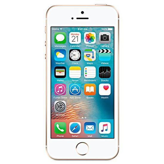 "Apple iPhone Se A1723 32GB Tela Retina de 4.0"" 12MP/1.2MP ..."