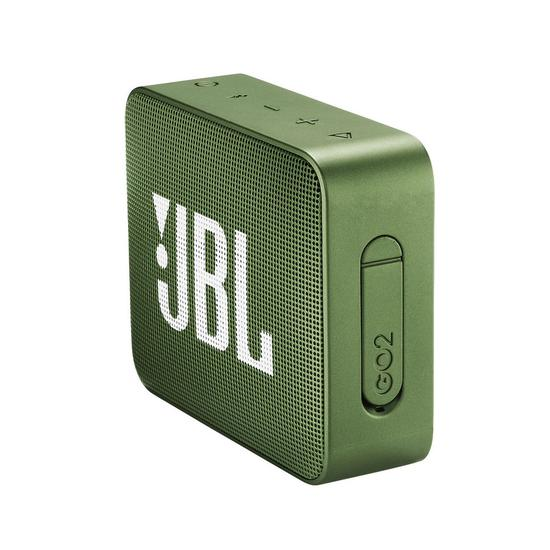 Caixa de Som de Som JBL Go 2 - Bluetooth/USB - Verde