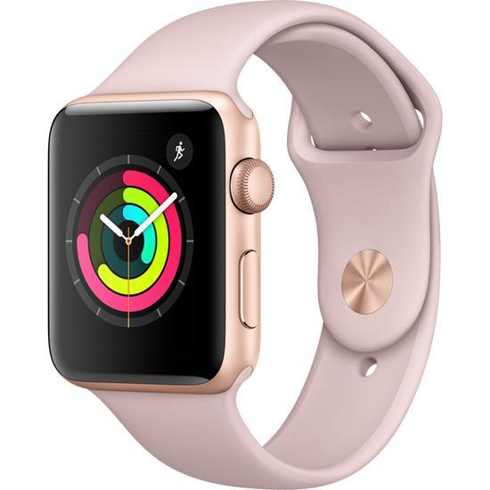 541d8a19175 Relogio Apple Watch Series 3 MQL22LL A 42MM Smartwatch GPS-Rosa