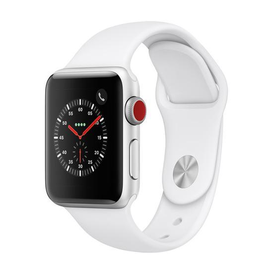 Apple Watch S3 Caixa de Aluminio Prata e Pulseira Esportiva Em Branco 42 MM MTF22CL/A