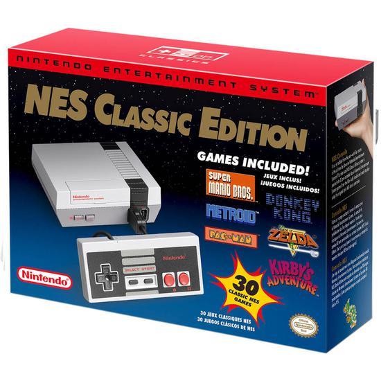 Console Nintendo Nes Classic Edition HDMI Cinza
