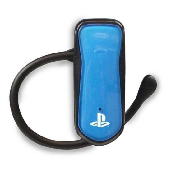 Headset Bluetooth 2.0 Azul PS3