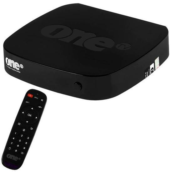 Receptor Fta Onetv Ultra HD 4K com Iptv/Wi-Fi/HDMI Bivolt - Preto