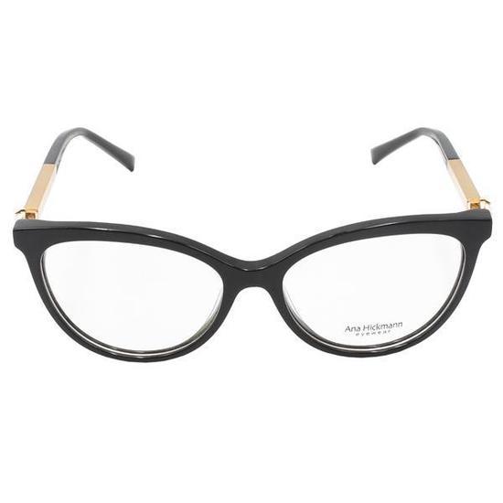 Armacao para Oculos de Grau Ana Hickmann Paris II Night Feminina - Preta 203ce4ab21