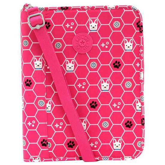 ab62890df Fichario Kipling New Storer Pink Dog - Rosa na loja Mega Shopping no ...
