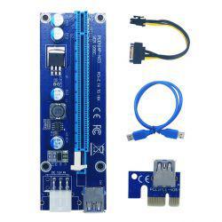 Adaptador Cabo Riser Placa PCI Express USB 3.0
