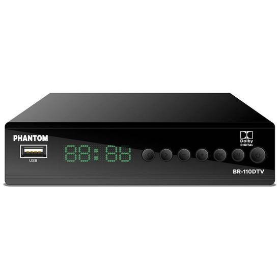 Conversor Phantom BR-110DTV Isdbt Full HD / Dolby Digital/ USB/ Rca/ HDMI