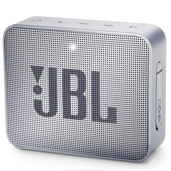 Caixa de Som de Som JBL Go 2 - Bluetooth/USB - Cinza