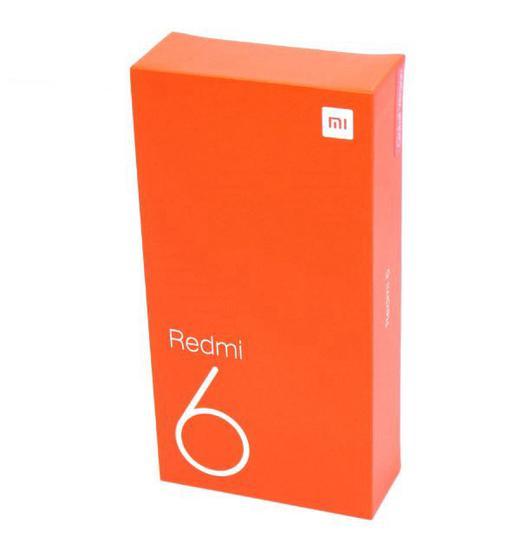 Celular Xiaomi Redmi 6 64GB / 4G / Dual Sim/ Tela 5.45/ Cameras 12MP+5MP e 5MP-Dourado