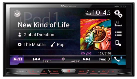 Toca DVD Pioneer AVH-X8650BT Bluetooth