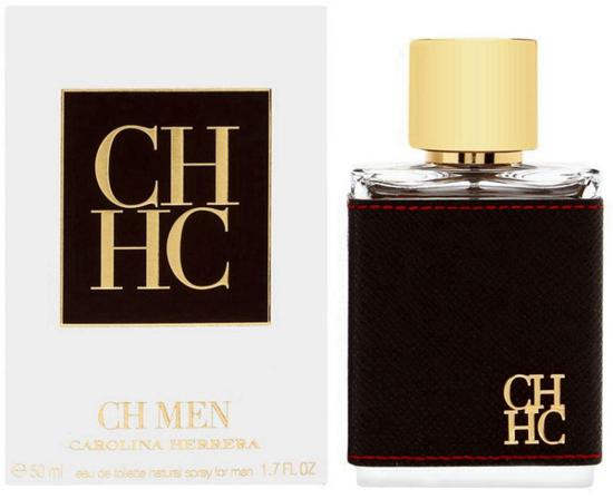 Perfume Carolina Herrera CH Men 50ML Edt 665039