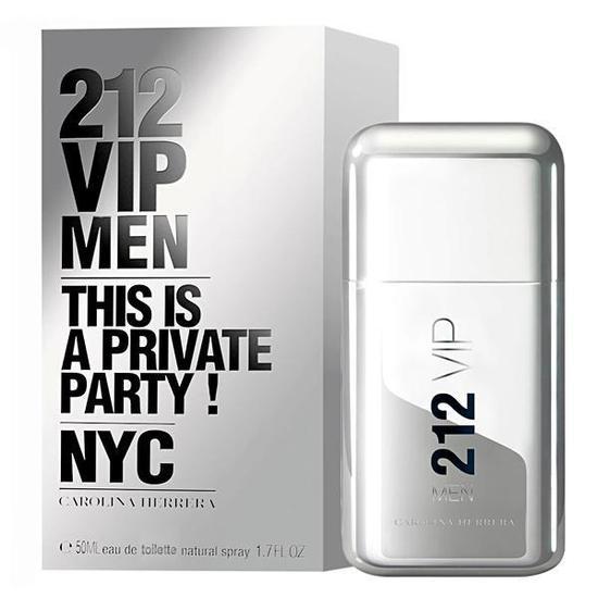 Perfume Carolina Herrera 212 Vip Men Eau de Toilette Masculino 50ML 9ebc977f46