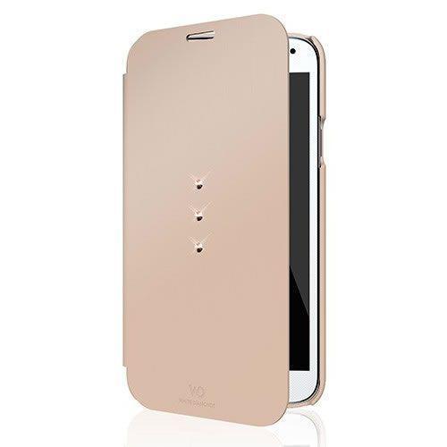 Capa Galaxy S5 WD Booklet Cystalrosegold 2411TRI56