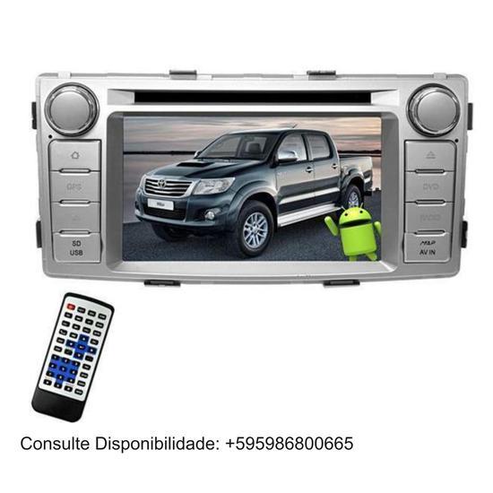 Multimidia M1 Toyota Hilux (2012-15) M6244 com TV Digital , Camera de Re e Android 8.0 - Prata