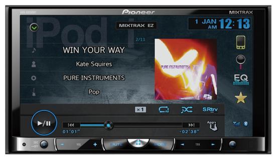 Toca DVD Pioneer AVH-X8550BT Bluetooth