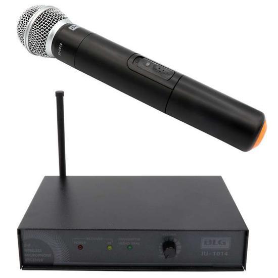 Microfone Sem Fio Uhf BLG IU-1014