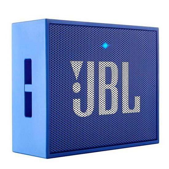 Caixa de Som JBL Go Blue Bluetooth com 3 Watts - Azul