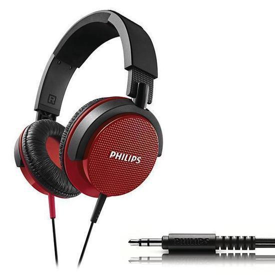 Fone de Ouvido Philips HL-3100RED - para DJ -Vermelho