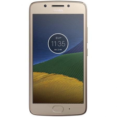 Celular Motorola G5 XT-1676 16GB / 4G / Dual Sim / Tela 5.0EQUOT; / Cameras 13MP e 5MP - Dourado