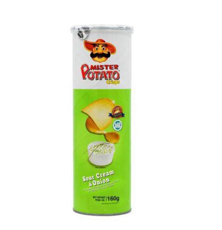 Batata Frita MR. Potato Crips Onion 160GR