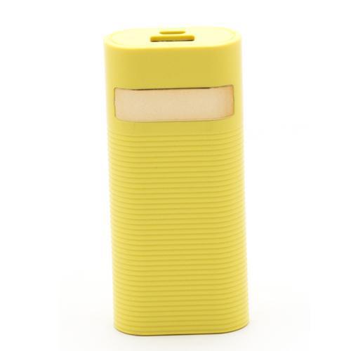 Carregador Portatil 5600MAH, 1 Porta USB, Entrada 5V/1A, Saida 5V/1.5A - Amarelo