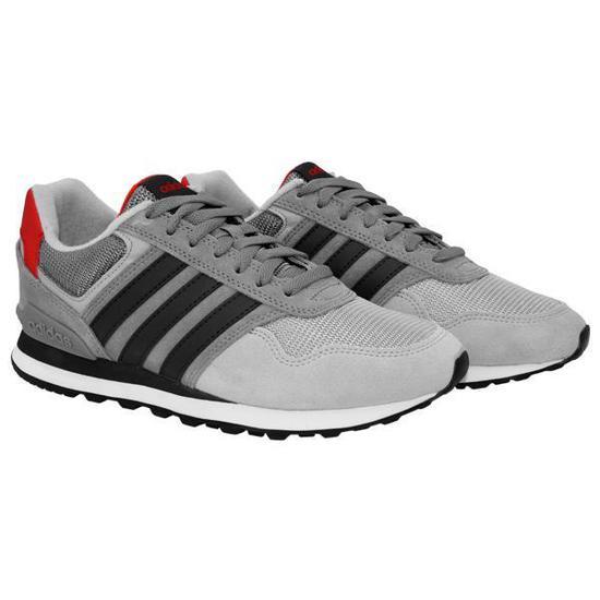 3de577ebd42 Tenis Adidas 10K BB9783 Cinza(M)8.5