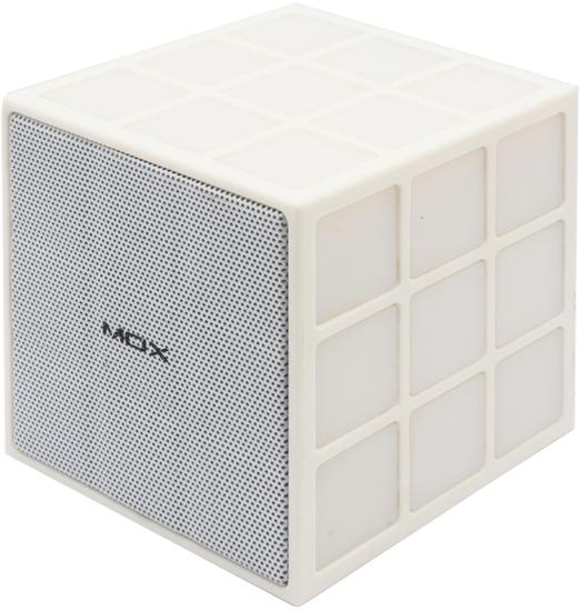 Caixa de Som Mox MO-S07 Bluetooth/Microsd/Aux - Branco