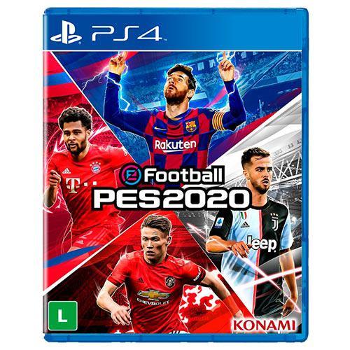 Jogo Efootball Pes 2020 (Espanhol/Ingles) PS4