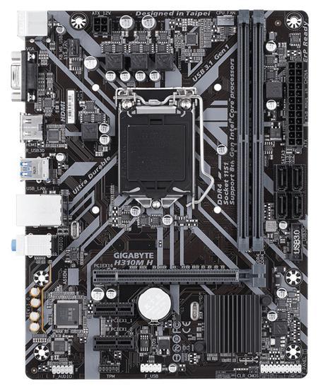 Placa Mãe Gigabyte H310M H LGA1151/ 2XDDR4/ PCI-e/ VGA/ HDMI/ SATA