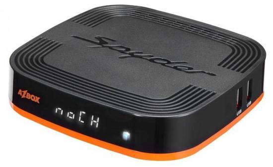 Receptor Fta Azbox Spyder 4K/Wifi/3D