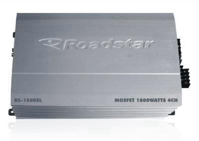 Amplificador Icador Roadstar RS-1800SL 1800W 4 CH