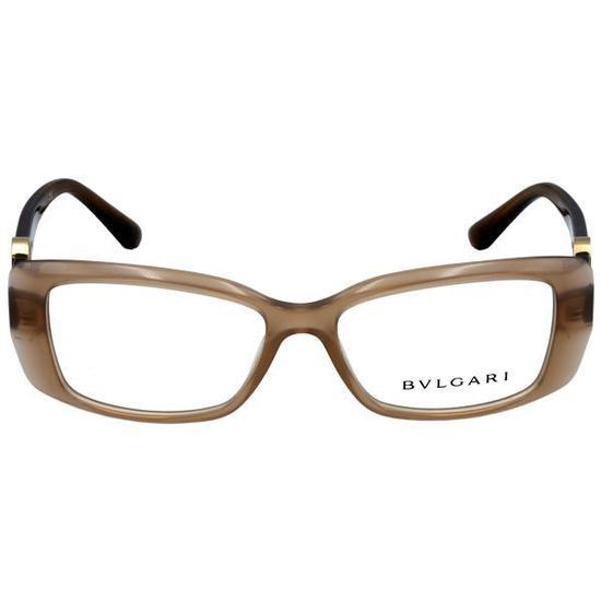 Armacao para Oculos de Grau Bvlgari BV4098B Feminina - Marrom na ... 53947bae77