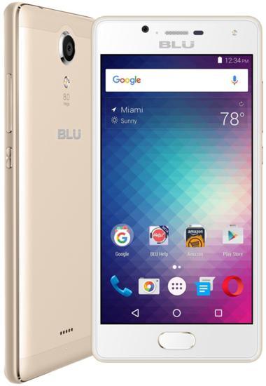 "Smartphone Blu Studio Touch Id Dual Sim Lte 5.0""2GB/16GB Dourado- Garantia 1 Ano No Brasil"