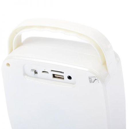 Caixa de Som X-Tech XT-SB2312 - Bluetooth - USB - SD - Branco