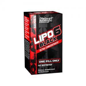 Lipo 6 Black Ultra Concentrado - 60 Capsulas Nutrex
