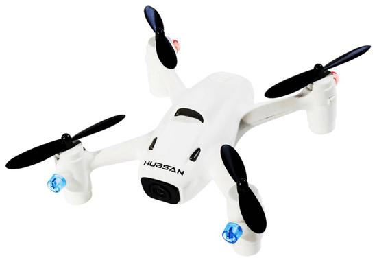 Drone The Hubsan X4 H107C+ com Camera 720P - Branco
