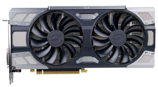 Placa de Vídeo EVGA Geforce GTX1070 FTW2 8GB GDDR5/ PCI-e/ DP/ DVI-D/ HDMI