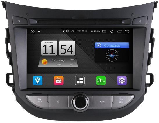 Multimidia M1 Hyundai HB20 M7142 Android 8.0 (2011-2014)