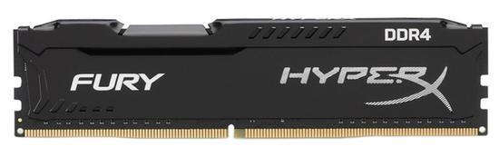 Memoria 16GB Kingston DDR4 2666MHZ CL16 Hyperx FURY-HX426C16FB/16-Preto