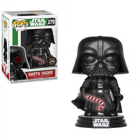 Boneco Funko Pop Chase - Star Wars Holiday Darth Vader 279