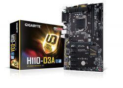 MB Gigabyte LGA1151 H110-D3A DDR4 6PCI