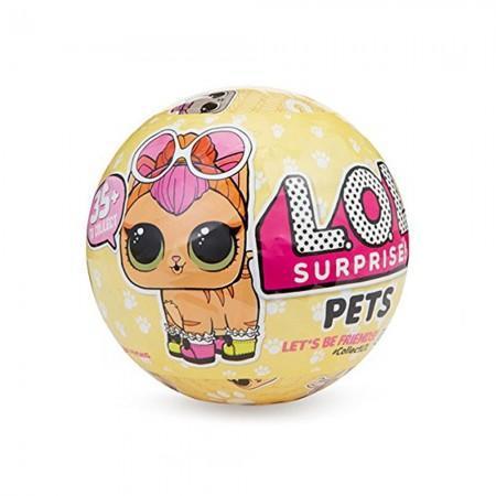 Boneca Lol Surprise 3 Pets Cats (Original)