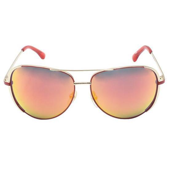 0f7762742dec6 Oculos de Sol Michael Kors M2067S Sicily Flash  600  5913 Unisex - Vermelho