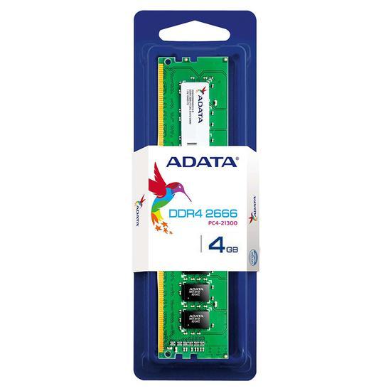 Memória Ram DDR4 Adata 2666 MHZ 4 GB AD4U2666J4G19-s U-DIMM