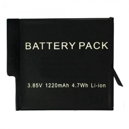 Acessorio para Go Pro Quanta Bateria para Hero 5 e 6 QTSCA640 - Preto
