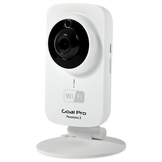 Camera IP Goalpro Panorama 3 com Wi-Fi/Visao Noturna/Funcao AP Hotspot - Branca