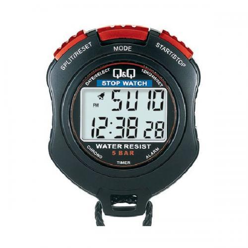 Cronometro Q&Q HS47J003Y - Preto/Vermelho