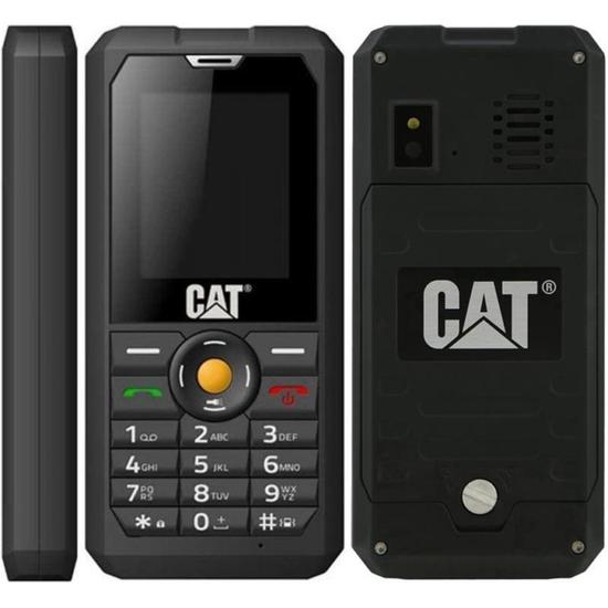 "Celular Caterpillar B30 3G Dual 2.0"" 2MP FM Preto"