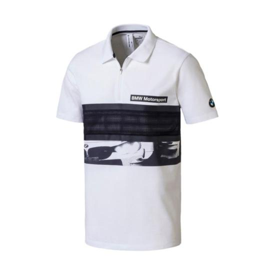 Camisa Polo Puma BMW MS Graphic Masculino